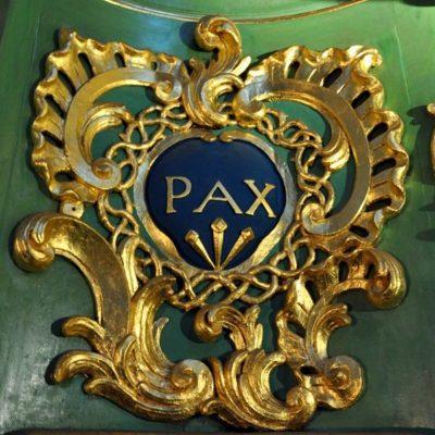 PAX - Détail de l'orgue de Ste-Croix à Bordeaux